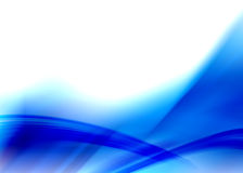 Blue abstract Royalty Free Stock Photography