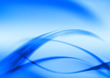 Blue abstract Royalty Free Stock Photos
