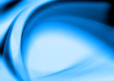 Blue abstract. Composition with flowing design Royalty Free Stock Photos