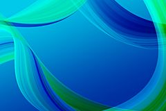 Blue abstract Royalty Free Stock Image