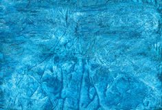 Blue  abstract artistic handmade gouache background for differen Royalty Free Stock Photography