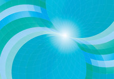 Blue abstract background. Vector blue abstract background color royalty free illustration