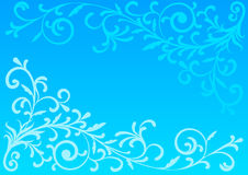 Blue abstract background. Illustration vector illustration