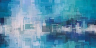 Free Blue Abstract Background Royalty Free Stock Photos - 125818088