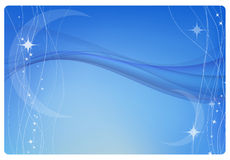 Blue abstract background stock illustration