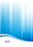 Blue abstract background. With place for text royalty free illustration