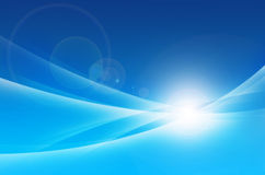 Blue abstract background. Abstract background beauty blue cold computer concepts Royalty Free Stock Photos