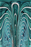 Blue abstract background. Abstract blue background with an artistic design Stock Photography