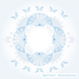 Blue abstract background. With transparent elements vector illustration