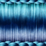 Blue abstract background. Metallic blue striped abstract background Royalty Free Stock Photography