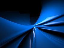 Blue abstract background. Blue background design with lines Stock Image