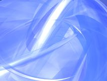 Blue Abstract Background. A 3d soft blue abstract background Stock Image