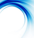 Blue abstract background. Blue on white abstract background Stock Photo