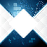 Blue abstract background. Elegant illustration Stock Image