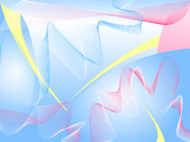 Blue abstract background. Vector illustration Royalty Free Stock Photos
