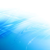 Blue abstract background. With some white Stock Photos