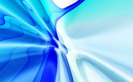 Blue abstract background. Blue 3D rendered abstract background Stock Image