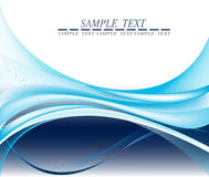 Blue abstract background. Stock Photography