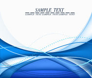 Blue abstract background. Royalty Free Stock Photo