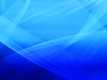 Blue abstract background. Stock Image