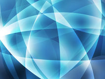 Blue abstract background. A blue abstract background with lines of light vector illustration