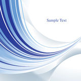 Blue abstract background. Blue abstract template with copy space. Vector Royalty Free Stock Photos