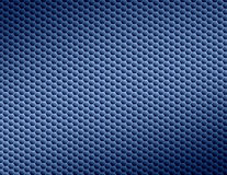 Blue abstract background. Blue & black honeycomb textured background Royalty Free Stock Photo