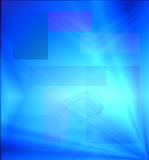 Blue Abstract Background. Blue Rays of Light Abstract Backdrop for Website Internet Background stock illustration