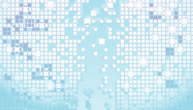 Blue abstract background. Vector illustration - Blue abstract background Stock Photos