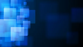 Blue abstract background of blurry squares. Abstract background of blurry squares in blue colors royalty free illustration