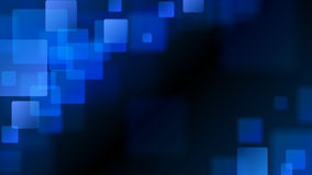 Blue abstract background of blurry squares. Abstract background of blurry squares in blue colors vector illustration