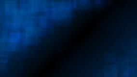 Blue abstract background of blurry squares Royalty Free Stock Photography