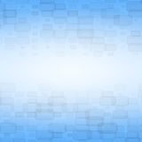 Blue abstract background with bricks. With copyspace for text Royalty Free Stock Photography