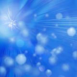 Blue abstract background circle lights bokeh. For your webdesign Royalty Free Illustration
