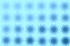 Blue abstract background, circles, seamless. Blue background, abstraction, circles. Background St. Patrick`s day Stock Images
