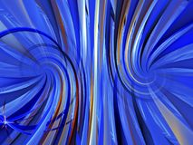 Blue abstract background composed of fractal shapes and colors o. N intense color, design for posters background of web page or advertising vector illustration