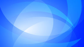 Blue abstract background. Abstract background of curved lines in blue colors royalty free illustration