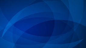 Blue abstract background. Abstract background of curved lines in blue colors vector illustration