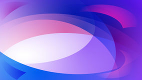 Blue abstract background. Abstract background of curved lines in blue and purple colors Royalty Free Stock Images