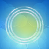 Blue abstract background for design Stock Photo