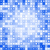Blue abstract background. Abstract background from different squares. Used for your modern design vector illustration
