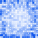 Blue abstract background. Abstract background from different squares. Vector illustration. Used for your modern design stock illustration