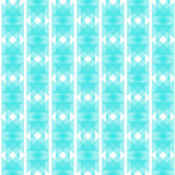 Blue Abstract Background in Ethnic Style. Seamless Pattern Royalty Free Stock Image