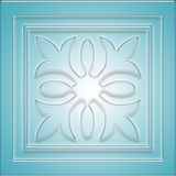 A blue abstract background. A blue abstract glassy background royalty free illustration