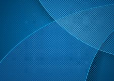 Blue Abstract Background with Grid Pattern. Blue Abstract Background and Grid Pattern with Overlapping Layers - Modern Illustration for Graphic Design, Visit Stock Illustration