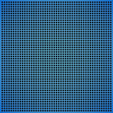 Blue abstract background. Abstract background a blue grid with round opening Stock Images