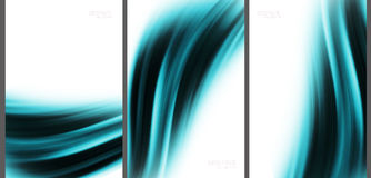 Blue Abstract background high technology collection.  Royalty Free Stock Photo