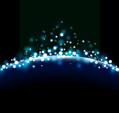 Blue abstract background. The illustration contains the image of abstract background Stock Images