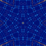 Blue abstract background, light. Blue abstract background, kaleidoscope light Royalty Free Stock Images