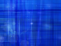 Blue abstract background with light lines Royalty Free Stock Image